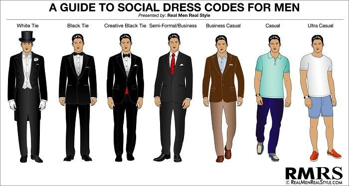 a dress code is in effect