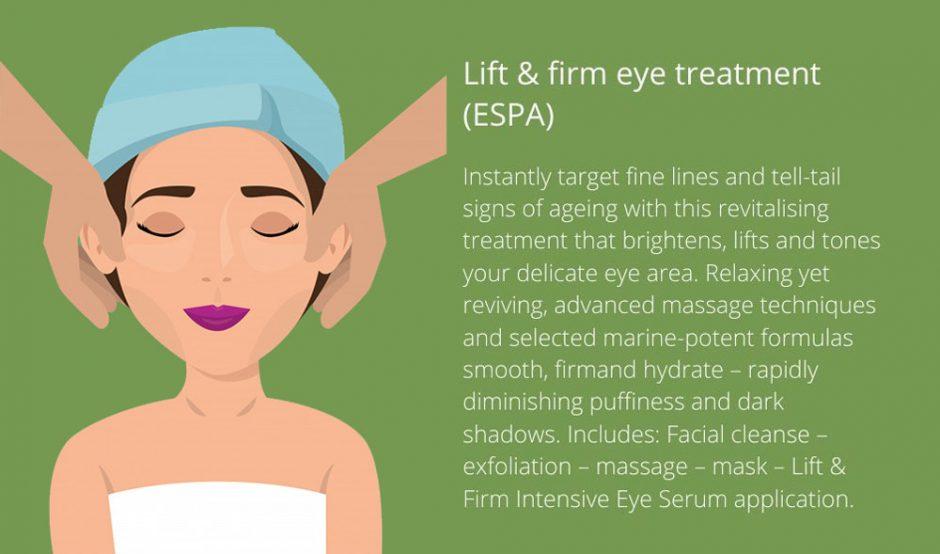 Lift firm eye treatment ESPA